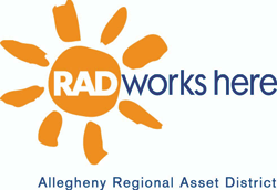 RAD Works Here logo